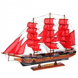 """Модель парусника """"Fregata Sicio Red"""", 69см"""