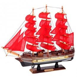 """Декоративная модель корабля """"Алые Паруса"""" 44см"""