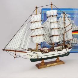 """Модель парусного корабля """"Gorch Fock"""" 55 см"""
