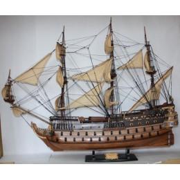 "Корабль ""SAN FELIPE"" (крупнейший испанский галеон 1617г.), 100см"