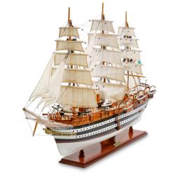 """Модель итальянского линейного корабля 1931г. """"Amerigo Vespucci"""""""