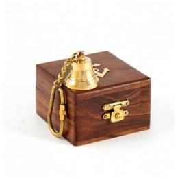 """Подарочный брелок-рында в деревянном футляре """"Морячок"""""""
