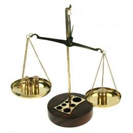 """Весы сувенирные с разновесами """"На вес золота"""""""