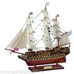 """74-пушечный корабль """"Азов"""" 1826г."""