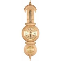 "Часы с барометром и термометром ""Комендант"""