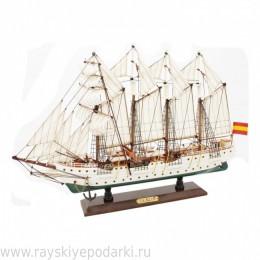 """Модель парусного корабля """"Элькано"""""""