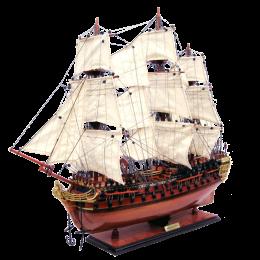 """Модель парусного корабля """"HMS Bellona"""""""
