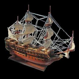 "Модель парусного корабля ""HMS Prince"""