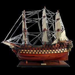 """Модель парусного корабля """"La Bretagne"""""""
