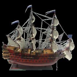 """Модель парусного корабля """"Le Furieux"""""""