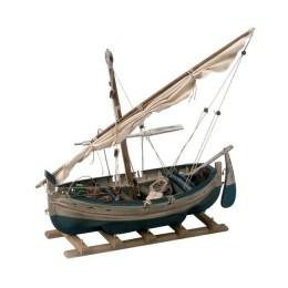 """Модель рыбацкой лодки из дерева """"Мадина"""""""