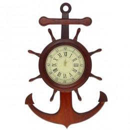 """Настенные часы """"Морской якорь"""""""