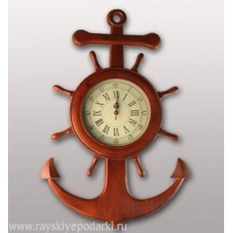 """Настенные часы """"Якорь"""""""