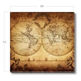 """Постер на холсте """"Карта капитана"""""""