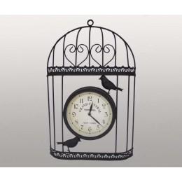 """Часы настенные """"Птички в клетке"""""""