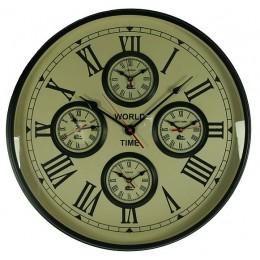 """Декоративные настенные часы """"World time"""""""