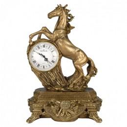 """Декоративные часы """"Степной конь"""", выс.50см"""