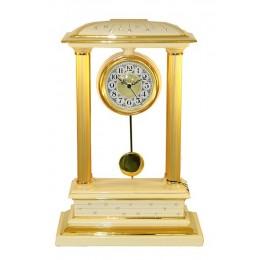 """Декоративные настольные часы """"Franchetti"""" (cream) выс.53см"""