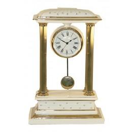 """Декоративные настольные часы """"Franchetti"""" (white) выс.53см"""