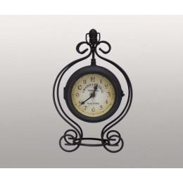 """Декоративные настольные часы в металлическом корпусе """"Grand Central"""""""