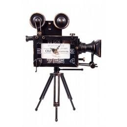"""Настольные часы """"Кинокамера"""" выс. 42 см."""