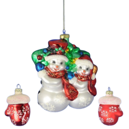 """Набор """"Два снеговика с рукавичками"""""""