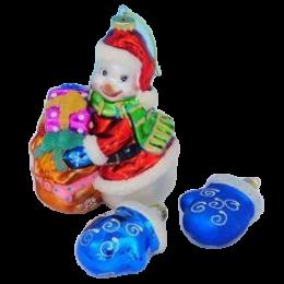 """Набор игрушек """"Снеговик с рукавичками"""""""