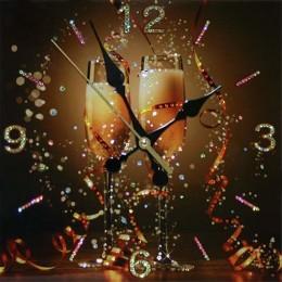 """Настенные часы """"Брызги шампанского"""""""