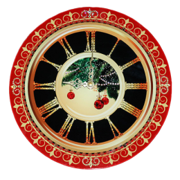 """Настенные часы """"Новогоднее настроение"""""""