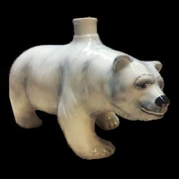 """Подарочный цветной штоф """"Медведь"""""""
