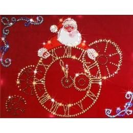 """Картина Swarovski """"Новогоднее время"""""""