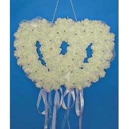 """Свадебная декорация """"Два сердца"""""""