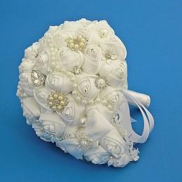 """Свадебный букет белый """"Для невесты"""""""
