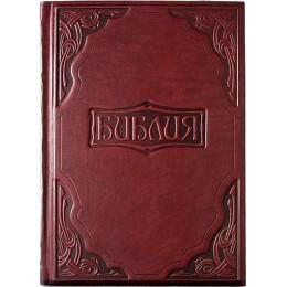 """Подарочная книга в кожаном переплете """"Библия в гравюрах Гюстава Доре"""""""