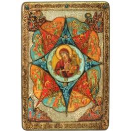 Большая икона Божией матери Неопалимая купина