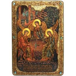 """Большая подарочная икона """"Троица"""""""