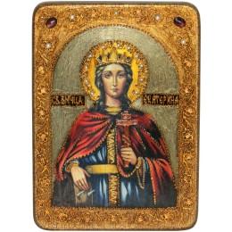 """Икона """"Святая великомученица Екатерина"""""""