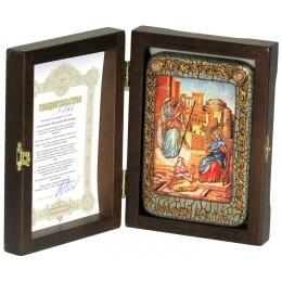 """Настольная икона """"Благовещение Пресвятой Богородицы"""""""