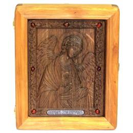 Подарочная резная икона Ангел Хранитель
