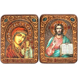 Венчальная пара подарочных икон