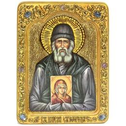 """Живописная икона """"Паисий Святогорец"""""""