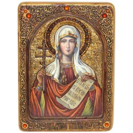 """Живописная икона """"Святая мученица Татиана"""""""