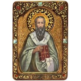 """Живописная икона """"Святитель Василий Великий"""""""