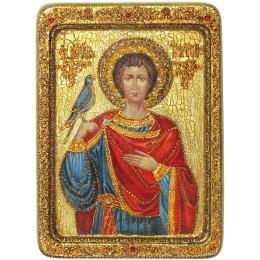 """Живописная икона """"Святой мученик Трифон"""""""