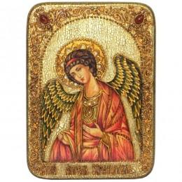"""Подарочная аналойная икона """"Angel"""" на мореном дубе"""