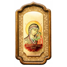 """Декоративная икона """"Богородица Казанская"""""""