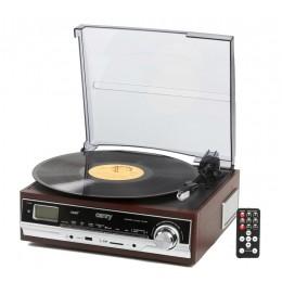 "Виниловый ретро-центр Camry CR1114 ""Turntable 1973"" (SD/MMC/USB) (+ доп игла)"