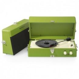 "Виниловый проигрыватель ретро Ricatech RTT80Green ""Roxy Music"" (vintage green)"
