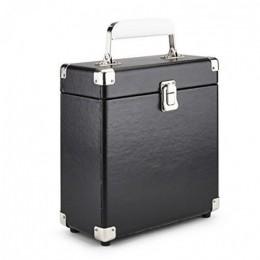 Кейс для маленьких виниловых пластинок GPO Black (формат 7 inch)