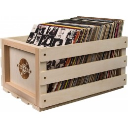 Ящик для хранения пластинок CROSLEY (до 75 пластинок)